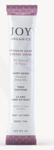 Premium hemp energy drink