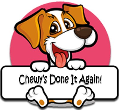 Chewy's Done it Again Jupe's Treats Logo