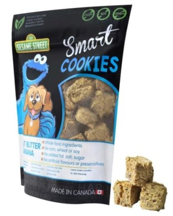 Be the first to try these new peanut butter dog cookies with banana. They are sure to make your dog happy!