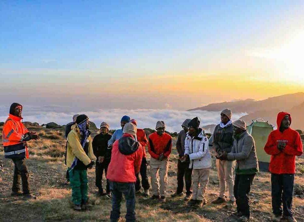 Mount Kilimanjaro - Shira Camp