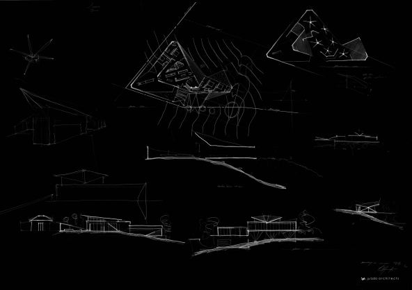 brick bay concept design sketch black sm