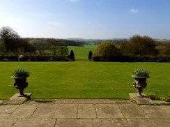 The view from Hinton Ampner