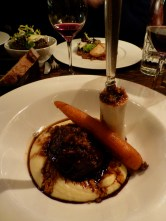 Ox Cheek and bone marrow at Little Social