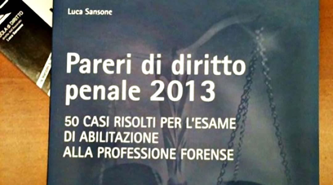 pareri di diritto penale