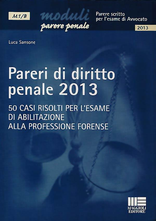 Pareri di Diritto Penale - 2013