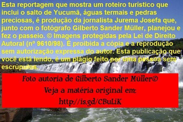 Correntezas no rio Uruguai