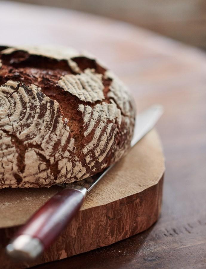 Bröd med messmör och bulgur