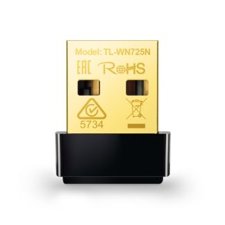 Product image for TP-Link TL-WN725N N150 Nano Wireless N USB Adapter