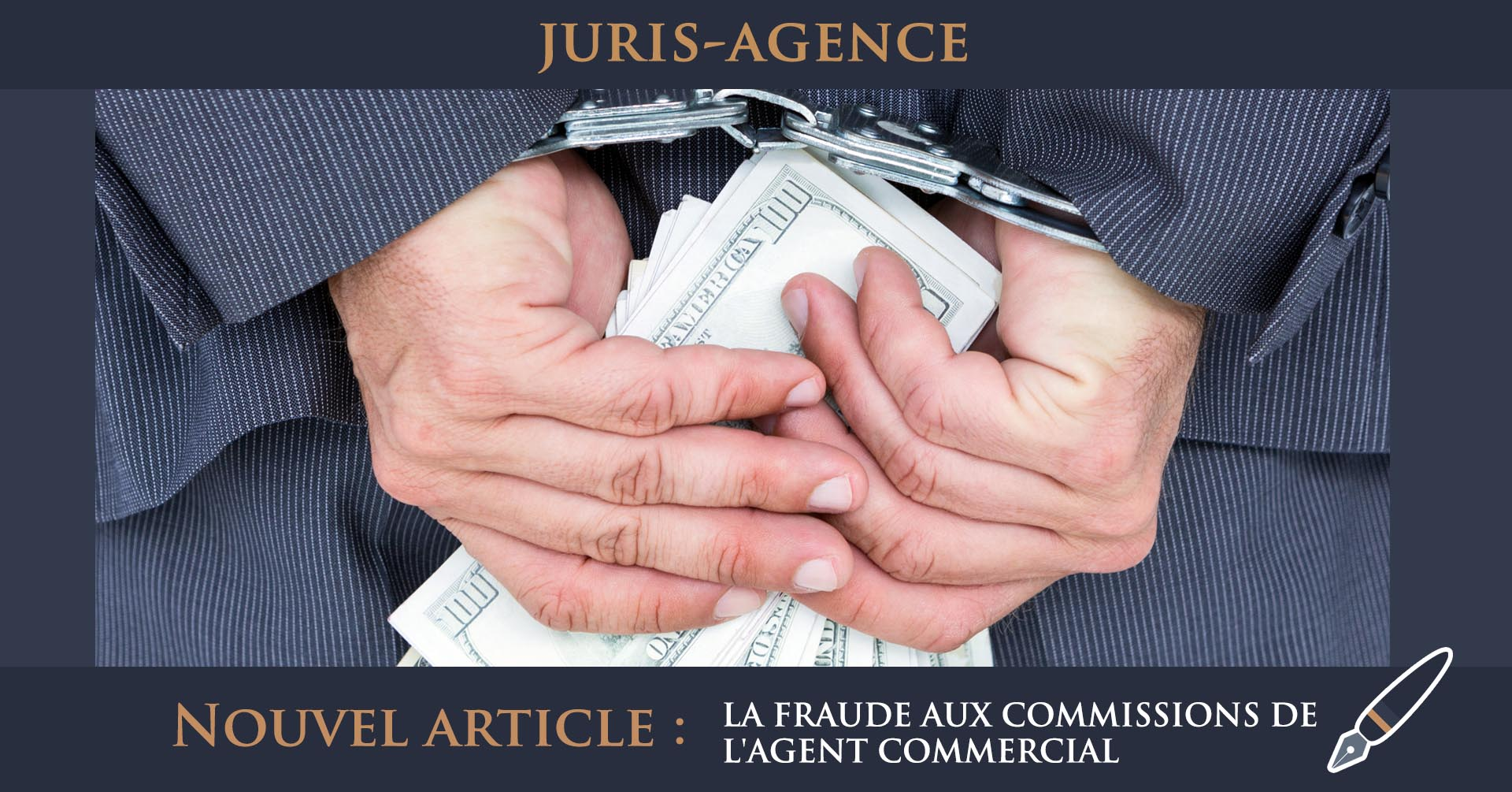 fraude commissions agent commercial mandant