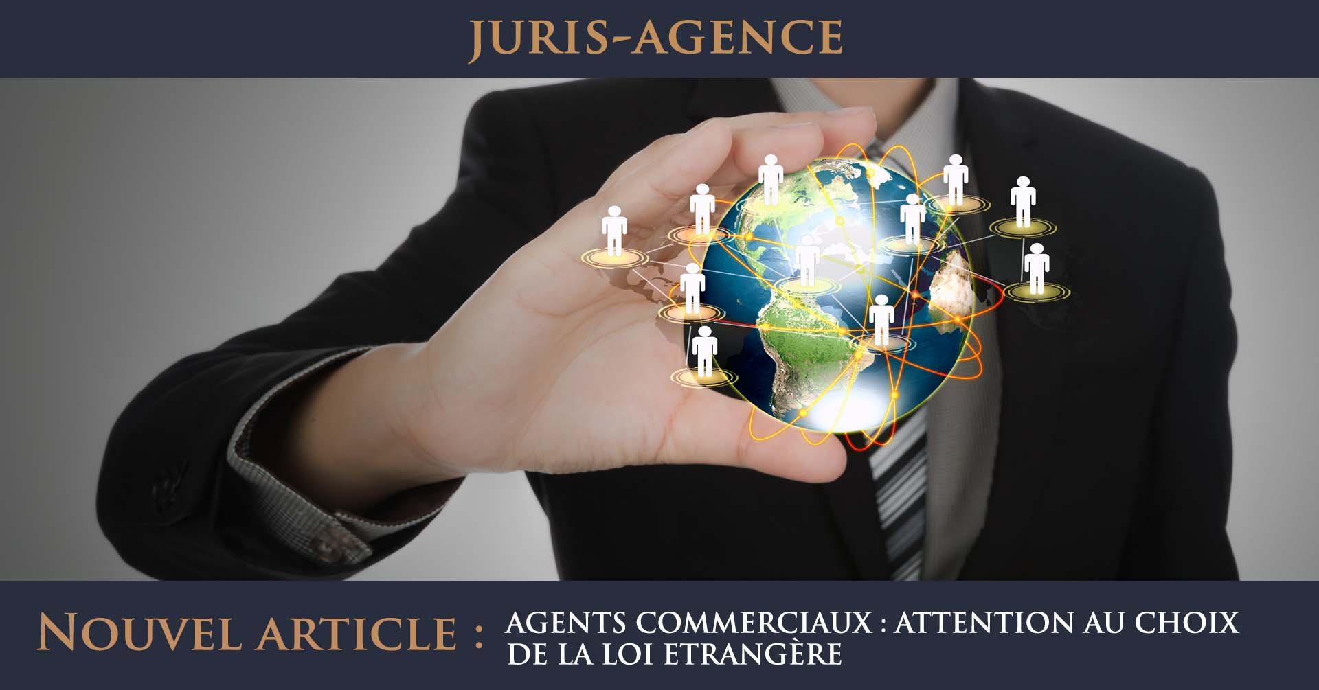 agents commerciaux loi etrangère