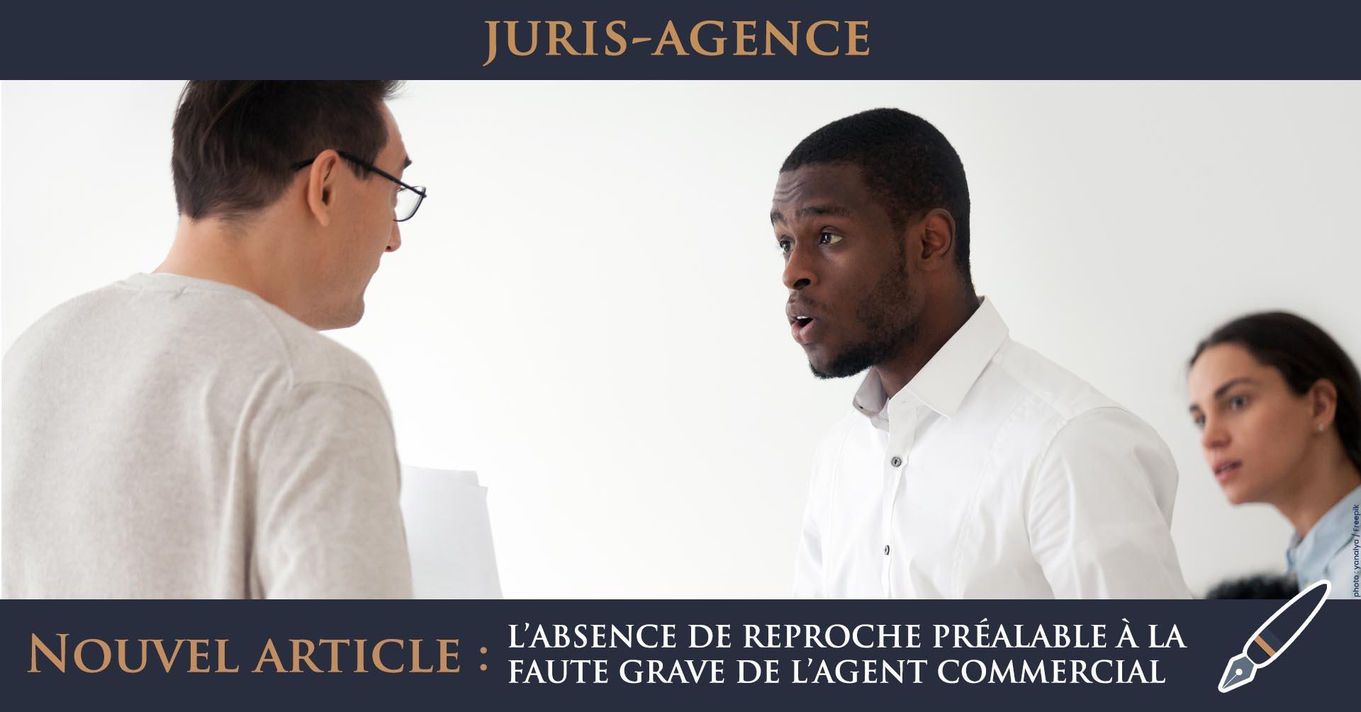 reproche faute grave agent commercial