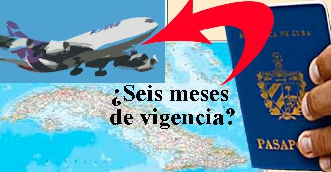 PASAPORTE CUBANO, SU VIGENCIA Y LAS AEROLINEAS