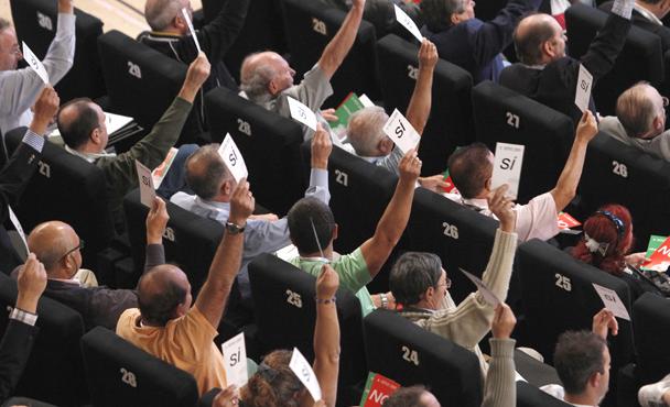 Resultado de imagen de votación acuerdos sociales
