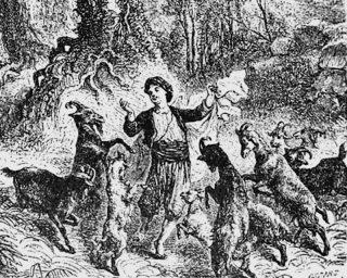 Kaldi dan kambingnya