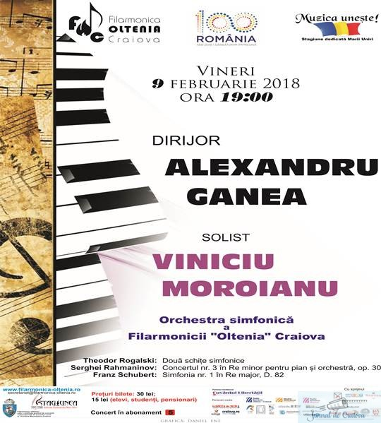 "Va place Rahmaninov? Atunci va asteapta Concertul nr. 3 la Filarmonica ""Oltenia"" Craiova 2"
