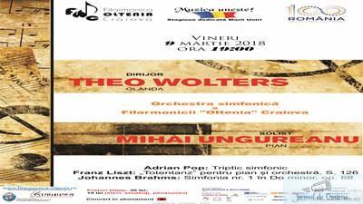 """Concert Liszt cu pianistul Mihai Ungureanu la Filarmonica """"Oltenia"""" 1"""