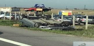 Accident pe Centura de Nord Craiova