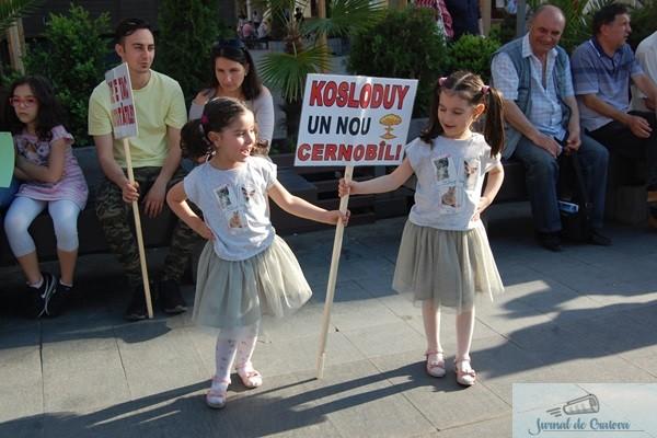 "Sute de craioveni au luat parte la mitingul ""Spune NU Kozlodui!"" 1"