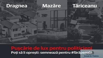 Adrian-Claudiu Prisnel , deputat USR : Puscarie executata in vilele luxoase construite din bani furati