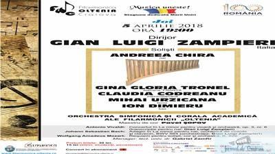 Tripla ipostaza a maestrului Gian Luigi Zampieri,in concertul din Joia Mare 1