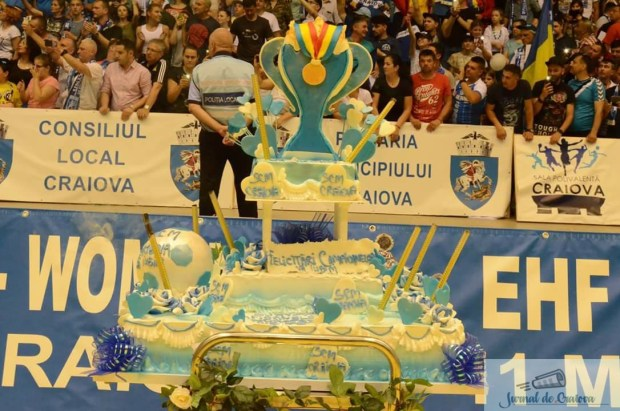 Handbal / Cupa E.H.F. : SCM Craiova pastreaza Cupa la Craiova 2