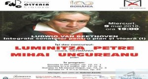"BEETHOVEN Integrala Sonatelor Pentru Pian si Vioara (I) la Filarmonica ""Oltenia"" Craiova 15"