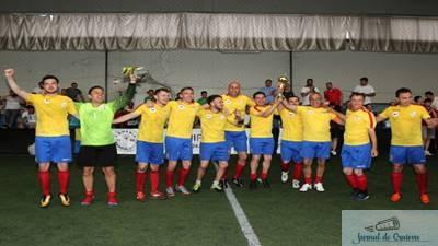 Baroul Bucuresti a castigat Cupa Unirii la Fotbal pentru avocatii romani