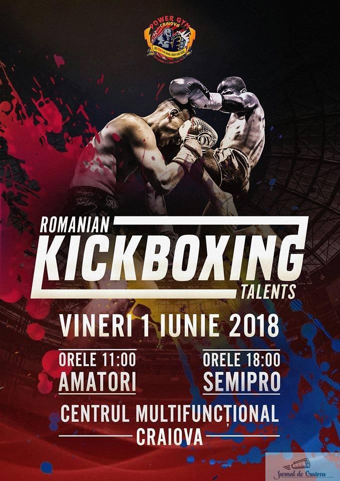 KickBox:  Kickboxing Talents la Centrul Multifunctional pe 1 iunie ! 2