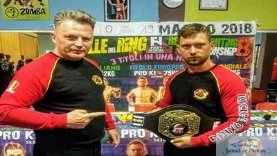 Kickboxing: Titlul European ETF castigat de doljeanul Marian Serban 1