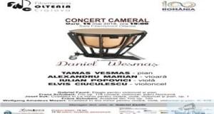 """Concert cameral """"In memoriam Daniel Wesmas"""" la Filarmonica """"Oltenia"""" Craiova 1"""
