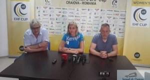 "Handbal / Cupa E.H.F. YULYIA DUMANSKA: ""VREM SA OPRIM CUPA LA CRAIOVA"" 2"