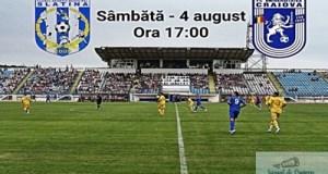 Fotbal : Inca un amical pentru FC U Craiova ! CSM Slatina - FC U Craiova 11