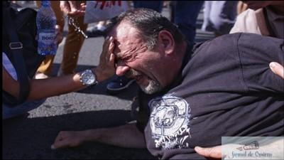 Revolta natiunii izgonite - Imagini in direct de la Protestul Diasporei 1