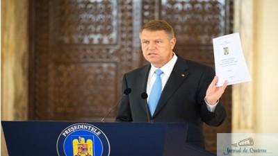 Klaus Iohannis a convocat CSAT pe 4 septembrie, la ora 13.00, pe rectificarea bugetara 1
