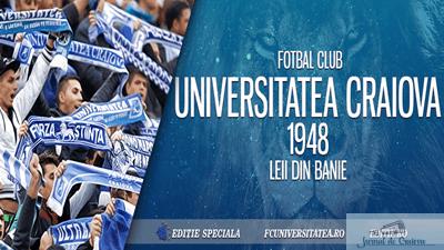 Fotbal : FC U Craiova joaca un amical azi la Celaru iar maine redeschide magazinul oficial 1