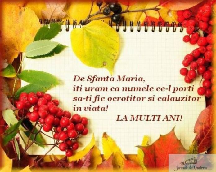 Mesaje si imagini de SFANTA MARIA 2020. Urari si felicitari pe care le poti transmite persoanelor care isi serbeaza onomastica 1