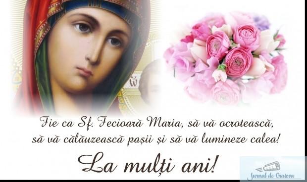 Mesaje si imagini de SFANTA MARIA 2020. Urari si felicitari pe care le poti transmite persoanelor care isi serbeaza onomastica 3