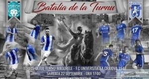 Fotbal : Pentru FC U Craiova urmeaza Batalia de la Turnu ! 16