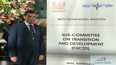 DEPUTATUL ION CUPA- VIZITA IN AZERBAIDJAN IN CADRUL DELEGATIEI PARLAMENTARE A NATO 1