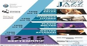 Maine incepe Craiova Jazz Festival, editia a II-a! 12 – 15 septembrie 2018 Sala Filarmonicii Oltenia Craiova 1