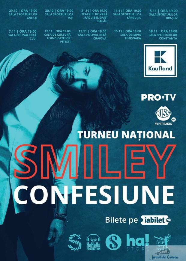 Smiley da start la karaoke: isi invita cei mai talentati fani sa cante cu el in concert 2