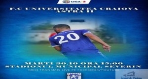 Fotbal : FC U Craiova joaca maine restanta cu AFC Astra 2 12