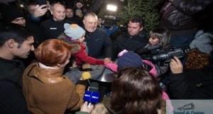 Consolare pentru Lia Olguta Vasilescu ! A aprins luminitele la Targul de Craciun 11