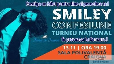 Castiga pentru tine si perechea ta un bilet la Concertul lui Smiley ! 1