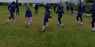 Fotbal : Universitatea Craiova a ajuns in Antalya si a efectuat primul antrenament