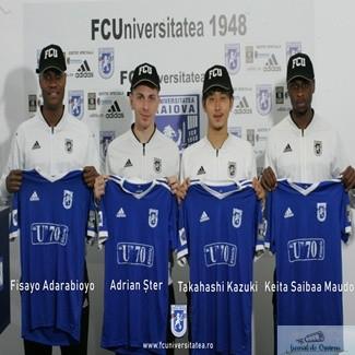 Fotbal : Universitatea Craiova a efectuat 4 transferuri ! Afla numele lor .. 1