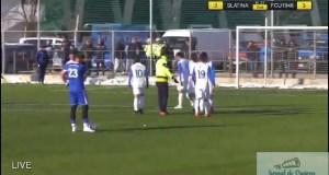 Fotbal : Universitatea Craiova castiga ultimul meci de pregatire impotriva echipei CSM Slatina 1
