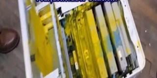 Peste un kilogram de cocaina ascunsa intr-o imprimanta trimisa din Spania