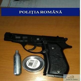 Tanar prins de politisti in timp ce incerca sa vanda un pistol in Craiova 1