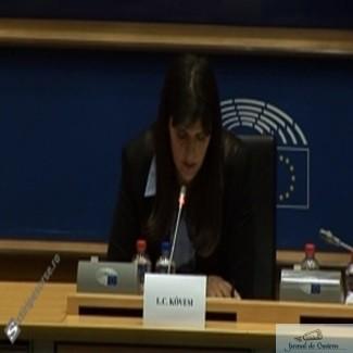 Emotii URIASE pentru Kovesi - Comisia LIBE din PE voteaza pentru desemnarea procurorului-sef european. Macovei si Grapini, in comisia de numarare a voturilor. 1
